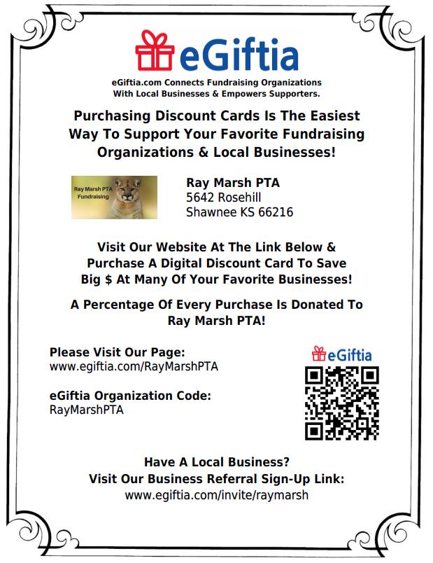 Discount Card Fundraiser - eGiftia