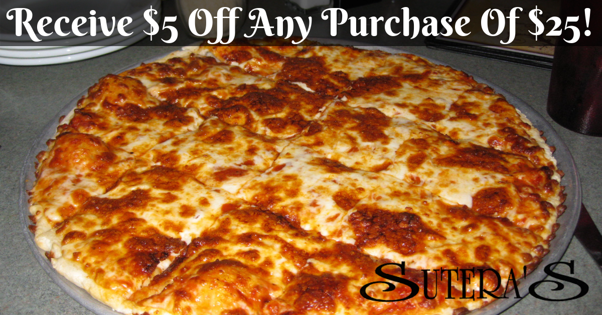 Sutera's Italian Restaurant & Bar - Enjoy $5 Off $25