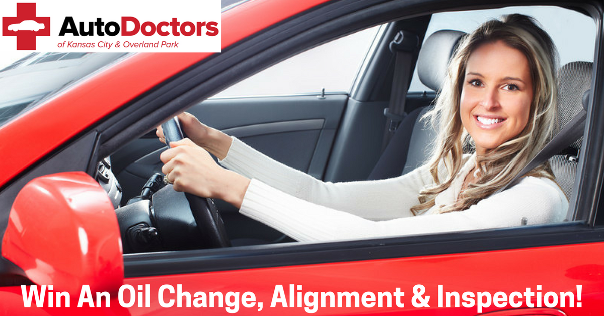 Enter To Win A Free Oil Change, Tire Alignment & 45 Point Inspection Valued At $199!