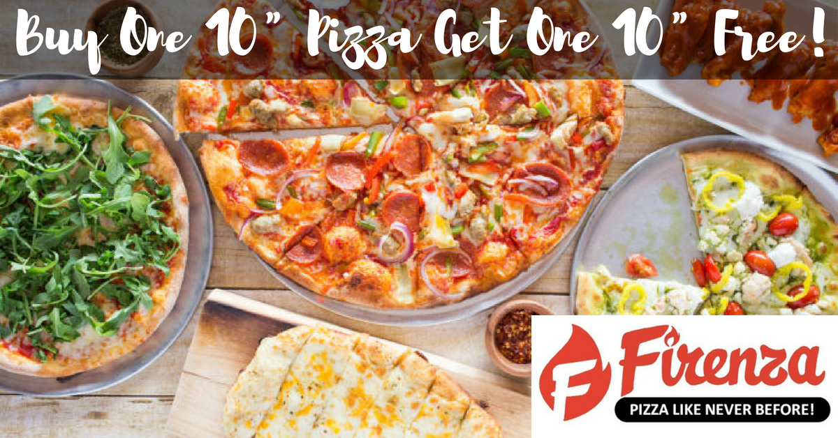Firenza Pizza - Enjoy A Free Pizza When You Purchase A Pizza