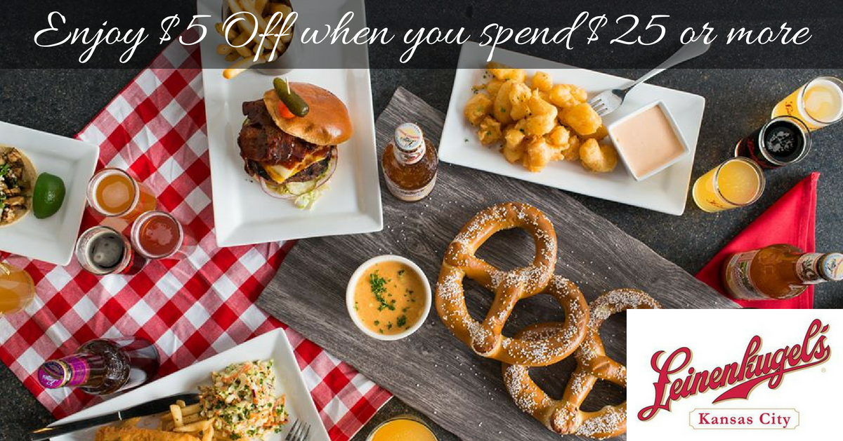 Leinenkugel's Kansas City - Enjoy $5 Off $25